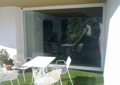 Colocación de ventanas de aluminio