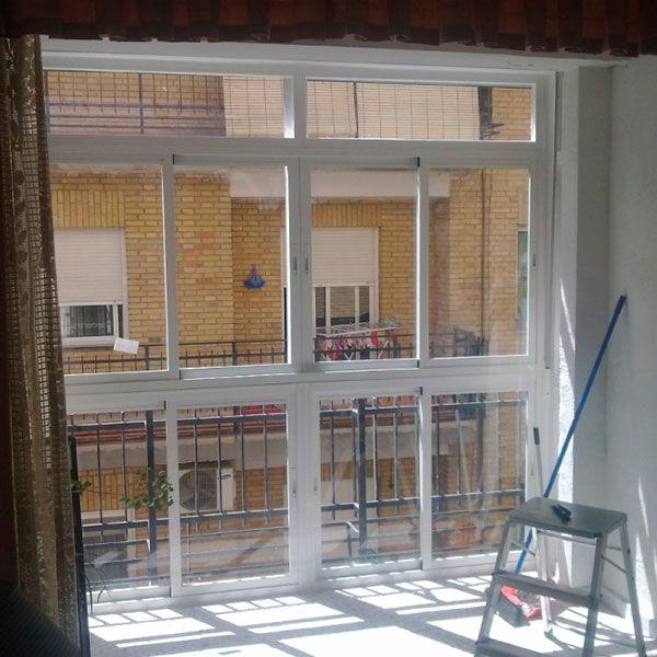 balconeras de aluminio